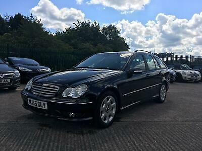 Mercedes C220 Cdi Diesel Sport Edition Auto / 55 Plate+Leather+Climate+Rare