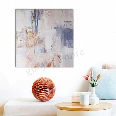 """24x24"""" Modern Abstract Canvas Print Oil Painting Framed Picture Home Wall Art"""