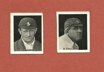"1922 Favourite Cricketer Series Presented With ""Young Britain"" - 2 Cards"