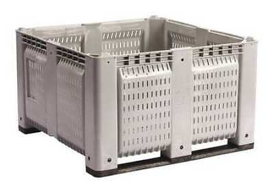 """DECADE PRODUCTS M48PGY6 Bulk Container, Gray, 44-3/4""""W"""