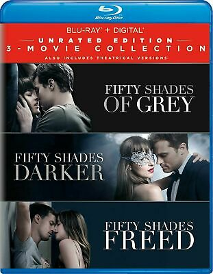 Fifty Shades: 3-Movie Collection Blu-ray - No Slip Cover