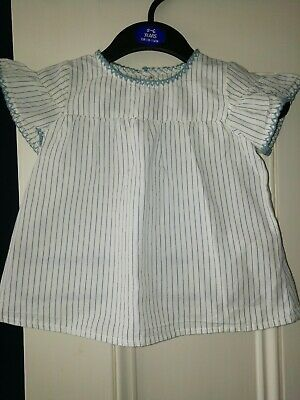 Vintage Top Blouse 6-12 Months 1 Year Vintage Summer Baby Spanish handmade