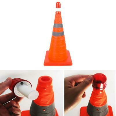 Telescopic Folding Road Cone Barricades Warning Sign Reflective Oxford Traffic
