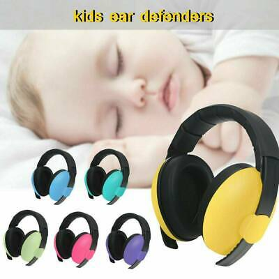 Kids Baby Ear Defenders Newborn Noise Reduction Protectors Folding Muffs Toddler