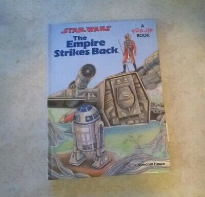 Star Wars: The Empire Strikes Back: A Pop-Up Book Hardcover Vintage 1980