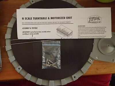 21 Postions Can Be Motorized Atlas 2790 N Scale Manually Operated Turntable