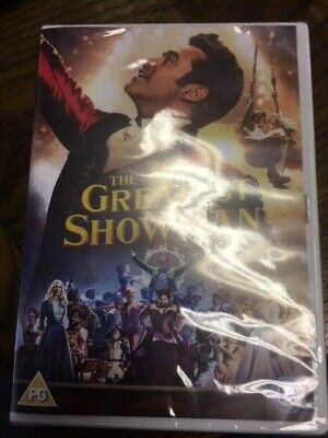 The Greatest Showman DVD (Sealed)