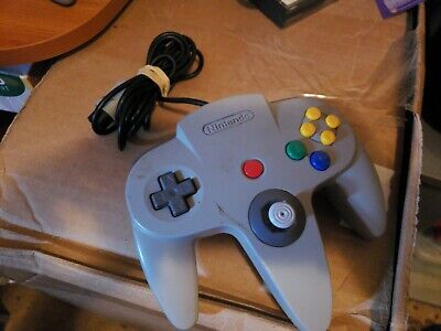 Nintendo 64 N64 Grey Authentic Video Game Controller Remote Pad Official orginal