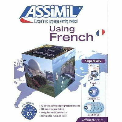 Assimil French: Using French -Superpack [Book + 4 CDs+ Mp3 CD] by Laurent...