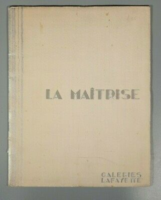 Rare 1930s Deco Galeries Lafayette  Maurice Dufrene Philippe Jacques Adnet