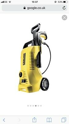 Kärcher K2 Full Control Pressure Washer - Yellow