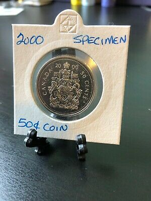 2000 Specimen Canada Fifty 50 Cent Coin