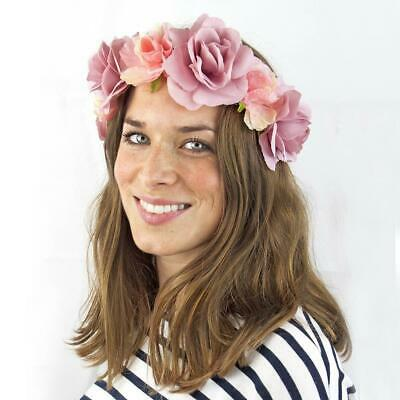FLORAL HEADBAND - Truly Scrumptious - Wedding, Veil, Bride to Be, Hen Party