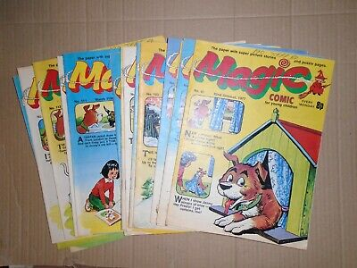 Magic mixed lot of 17 issues from 1977