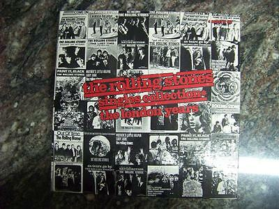 The Rolling Stones Singles Collection The London Years 4 Cassettes Book Set Box