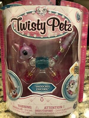 Twisty Petz Pets SUPER RARE Smooches Unicorn Transform Pet to Bracelet New