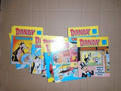 Dandy Cartoon Book mixed lot of 12 issues