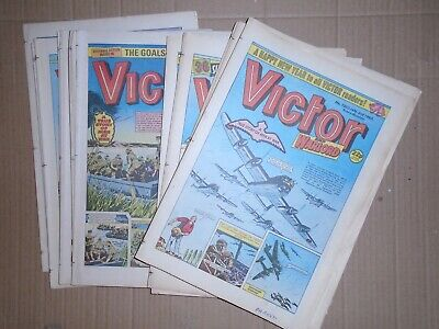 Victor job lot of 15 issues from 1987 1350 to 1365 complete run