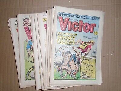 Victor job lot of 31 issues from 1988 1403 to 1434 no 1427