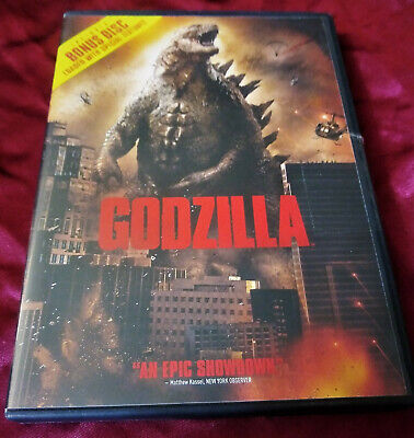 Godzilla 2014 DVD 2 disc set kaiju gojira biolante mothra rodan collection vs