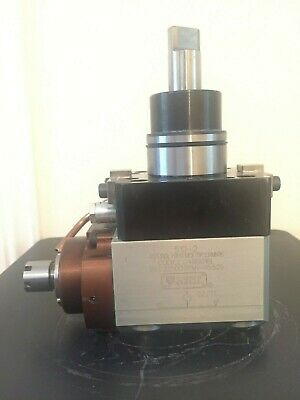 CNC Tooling / Axial Driven Tool / Geared Up Tool Holder / Biglia Lathe