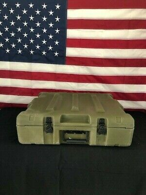 Pelican Hardigg Grn Military Storage-- Free Shipping--