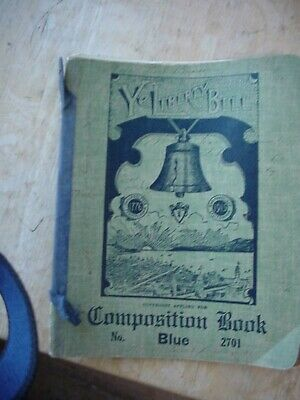 Vintage May 1 22 Composition Book W 49 Handwritten Pages Pearl Brown Arbuckle Ca