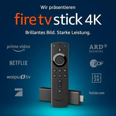 Amazon Fire TV Stick 4K Ultra HD Streaming + neue Alexa Sprachfernbedienung NEU