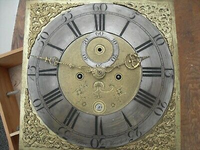 Grandfather clock c1765 Peter Clare Manchester
