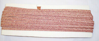 "Millinery DOLL hat Paper Straw BRAID10 Yards yds sz 2//8/"" 6mm  DARK  BROWN"