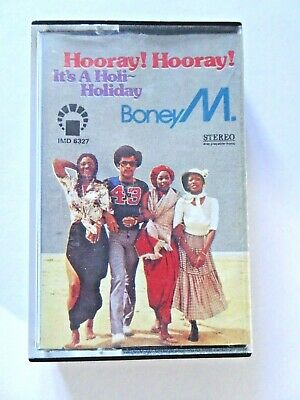 Boney M Hooray! Hooray! It's A Holi-Holiday Album Stereo Cassette Tape IMD 6327