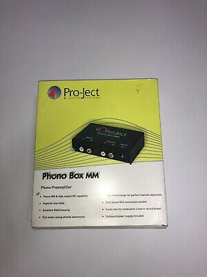 Project PHONO BOX MM Phono Pre Amplifer Includes Power Supply.