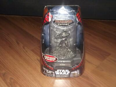 Star Wars 6 In. Bossk  The Bounty Hunter Titanium Limited Action Figure!