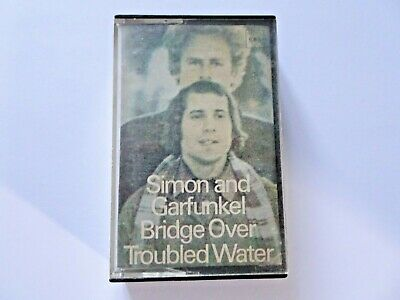 Simon Garfunkel Bridge Over Troubled Water Stereo Album Cassette Tape CBS 1970