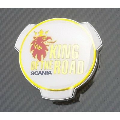 New Scania King of the Road Truck / Lorry Badge Emblem