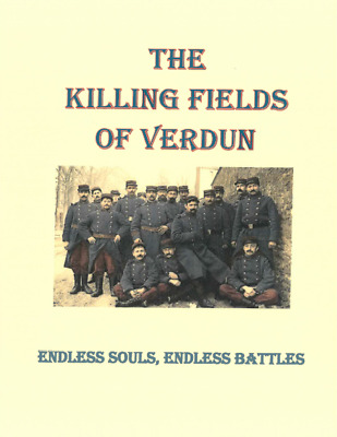 WWI US Army Marine British French Campaign of Verdun History Book
