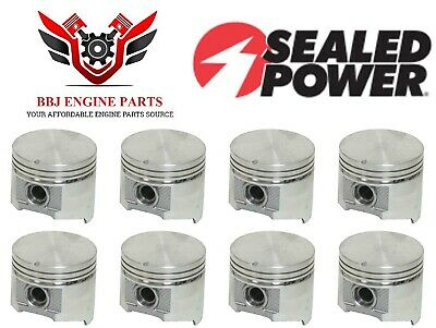 LA 360 PISTONS and Rods  040 over low compression Dodge