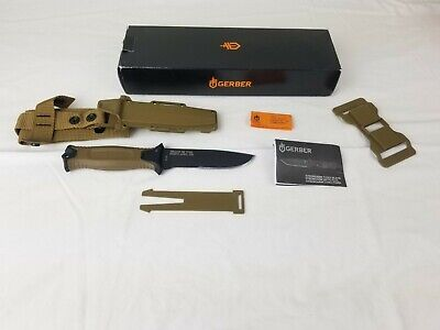 Gerber Strongarm Fixed Blade 420 High Carbon Stainless Steel Coyote Brown SE