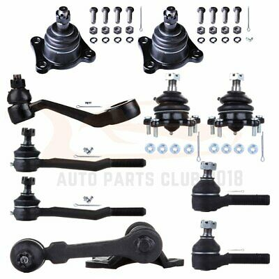 Upper /& Lower Ball Joints Idler /& Pitman Arms PartsW 8 Pc Suspension Kit for Toyota 4Runner /& Pickup Outer Tie Rod Ends