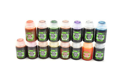 CITADEL 15 Brand NEW FRESH COMPLETE SHADE PAINTS set lot Bundle Including GLOSS