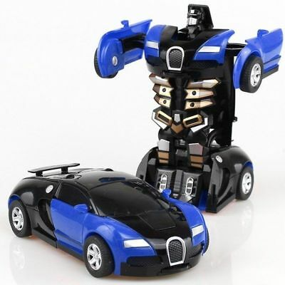 Robot Car Transformers Kids Toys Toddler Vehicle Cool Toy For Boys Birthday GifT