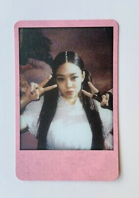 Jennie Official Photocard from BlackPink Kill This Love 2nd Album Photo Card