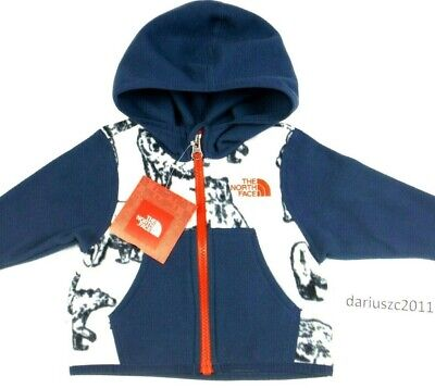 pretty nice c64d3 13d94 BABY INFANT THE North Face Black Fleece Spring Jacket Size 0 ...