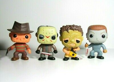 Horror Classics Funko Pop Lot Leatherface Freddy Krueger Michael Myers