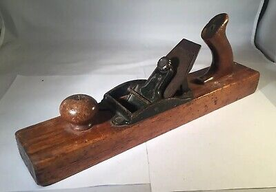 Vintage Stanley Bailey NO. 127 Liberty Bell TRANSITIONAL FORE Wood PLANE Type 10