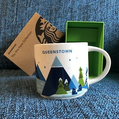Starbucks New Zealand Queenstown You Are Here Mug YAH Brand New In Box