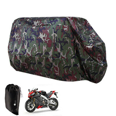 Motorcycle Waterproof XL Outdoor MotorBike Scooter Dust Rain Cover Extra Large
