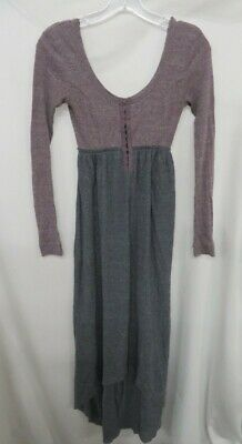 89a39c4bb9 $88 FREE PEOPLE BEACH Gray Oversized Cocoon Cowl Neck Pullover Tunic ...