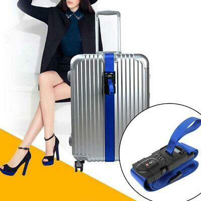 Suitcase Lock Belt Strap Travel Baggage Tie Adjustable With-Electronic-ScaleLock