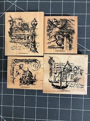 Stampin' Up! Travel Sketchbook -  Rubber Stamp Set - 4 of 6